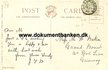 Guernsey, St. Sampsons, Post Card