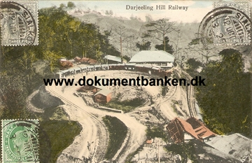 Darjeeling Hill Railway, Indien. Post Card