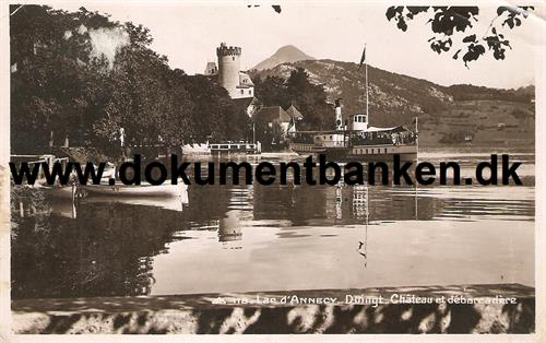 Annecy. Lac d'Annecy. Carte Postale