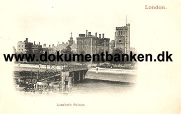 Lambeth Palace, London. Post Card