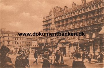 London. Charing Cross. Post Card 1922