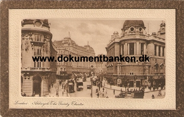 London. Aldwych. The Guiety Theatre. 1913. Post Card