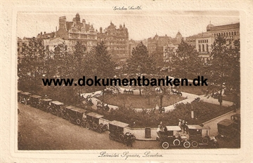 Leicester Square, London. 1914. Post Card