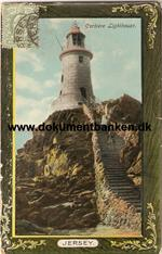 Corbiere Lighthouse. Jersey.