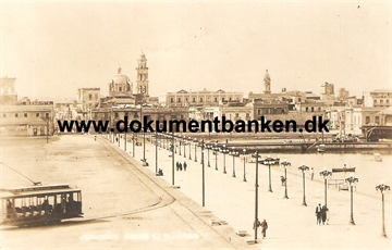 Veracruz. View to City from Harbour. Mexico