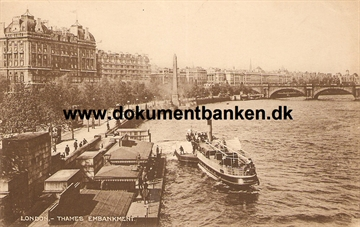 London. Thames Embankment