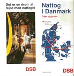 Nattog 1996 - Køreplan samt brochuren for Nattog