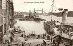 London - Embarking at London Bridge - 20 Oktober 1912
