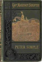 "Kapt Marryats Skrifter "" Peter Simple "" 1900 - 6 udgave"