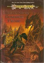 "Margaret Weis & Tracy Hickman "" Dragons Of Summer Flame "" 1995 - 1 oplag"